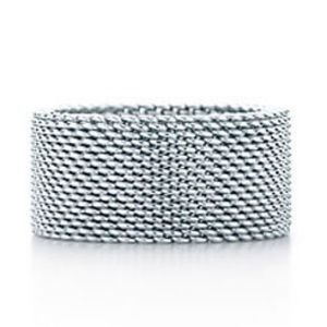 Tiffany & Co. Mesh Ring w/ Bag - DISCONTINUED ITEM